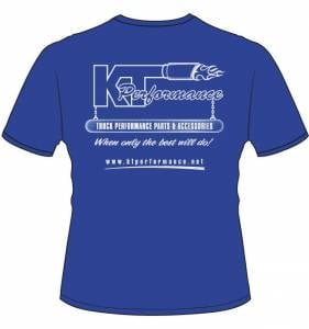 Apparel - KT Performance T-Shirts - KT Performance T-Shirt, Blue (Large)