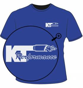 KT Performance T-Shirt, Blue (Large) - Image 2