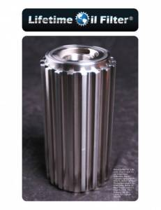Lifetime Oil Filter - Lifetime Oil Filter, Chevy/GMC (2001-12) 6.6L Duramax, Light-Medium Duty