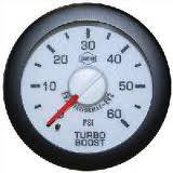 "2-1/16"" Gauges - Isspro EV2 White/Red - Isspro - Isspro EV2 Series White Face/Red Pointer/Green Lighting, Boost Pressure (60psi)"