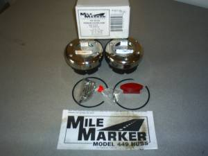 Axles & Axle Parts - Locking Hubs - Mile Marker - Mile Marker Supreme Stainless Locking Hubs, Dana 60 35 Spline