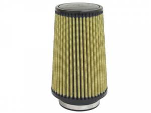 "Air Filters - Aftermarket Style Replacement/Universal Air Filter - aFe - Replacement Filter for aFe Intake Kit (4"" Flange x 6"" Base x 4.75"" Top x 9"" Height) Pro Guard 7"