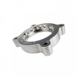 Engine Parts - Throttle Body Spacers - aFe - aFe Silver Bullet Throttle Body Spacer, Ford (2011-12) F-150 EcoBoost, 3.5L
