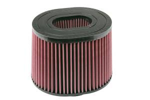 "Air Filters - Aftermarket Style Replacement/Universal Air Filter - S&B - S&B Replacement Air Filter (5"" Flange, 8.75""x10"" Base, 8""x9.75"" Top, 7"" Height) Cleanable, Oiled Cotton Media"