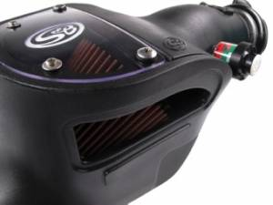 S&B - S&B Air Intake Kit, Ford (2008-10) F250/F350/F450/F550 6.4L Power Stroke Oiled Filter