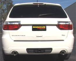 "Exhaust - 3.5"" Cat/DPF Back Exhaust - Magnaflow - MagnaFlow Cat-Back Dual Exhaust, Dodge Durango (2011-12) 5.7L, Rear Exit, Stainless"
