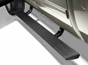Nerf Bars & Steps - Powered Steps - AMP Research - AMP Research Power Step, Chevy/GMC Silverado/Sierra (2007-10) CC/EC 2500/3500 HD 6.6L (Black)