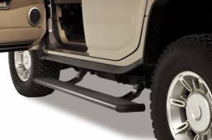 Nerf Bars & Steps - Powered Steps - AMP Research - AMP Research Power Step, Hummer (2003-09) H2, H2 SUT (Black)
