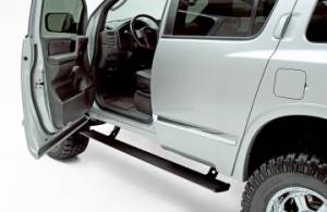 Nerf Bars & Steps - Powered Steps - AMP Research - AMP Research Power Step, Nissan (2004-12) Titan/Armada/Infiniti QX56 (Black)