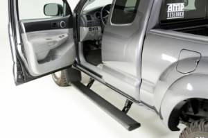 Nerf Bars & Steps - Powered Steps - AMP Research - AMP Research Power Step, Toyota (2005-12) Tacoma Double Cab/ Access Cab  (Black)