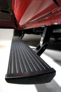 Nerf Bars & Steps - Powered Steps - AMP Research - AMP Research Power Step, Dodge (2006-09) Ram 1500-2500-3500 MC (Black)