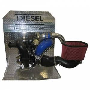 Diesel Power Source - Diesel Power Source Twin Turbo Kit, Dodge (2003-09) 5.9L & 6.7L Cummins, HT3B/D-Tech 62 - Image 4