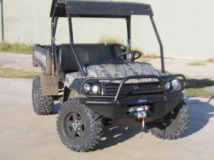 Tough Country - Tough Country UTV Front Bumper Replacement, John Deere (2010-13) Gator 625i, 825i, 850
