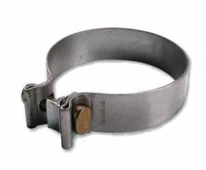"Exhaust Band Clamps - Exhaust Band Clamps, 3"" - Diamond Eye Performance - AccuSeal 3"" Band Clamp, Aluminized"