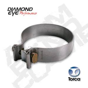 "Diamond Eye Performance - AccuSeal 3"" Band Clamp, Aluminized - Image 2"