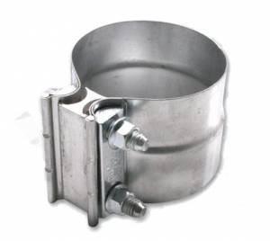 "Lap Joint Clamps - Exhaust Lap Joint Clamps, 2.5"" - Diamond Eye Performance - Torca 2.5"" Lap Joint Clamp, Stainless T-304"
