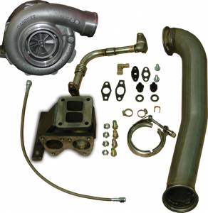 Turbos/Superchargers & Parts - Single Turbos - Pacific Performance Engineering - PPE GT40R Series Turbo Installation Kit, Chevy/GMC (2001-07) 6.6L Duramax LB7/LLY/LBZ (with GT4088R Turbo)