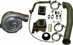 PPE - PPE Garrett GT42R Series Turbo Installation Kit, Chevy/GMC (2001-07) 6.6L Duramax LB7/LLY/LBZ (with Turbo)