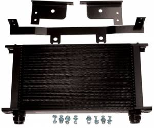 Transmission - Transmission Cooler - Pacific Performance Engineering - PPE Transmission Cooler, Chevy/GMC (2001-03) 6.6L Duramax (Orange Clips)
