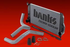 Intercoolers/Tubing - Intercoolers - Banks Power - Banks Power Techni-Cooler Intercooler Kit, Chevy/GMC (2002-04) 6.6L Duramax LLY