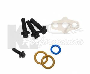 Ford Genuine Parts - Ford MotorcraftTurbo Bolt & O-ring Kit, Ford (2003-07) 6.0L Power Stroke - Image 2