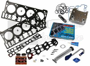Oil System & Filters - Oil Coolers & Service Kits - Complete Solution Kit, Ford (2003-07) 6.0L Power Stroke, Stage 1
