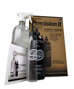 Air Intake & Cleaning Kits - Air Filter Cleaning Kits - S&B - S&B Precision II Cleaning & Oiling Kit, Blue