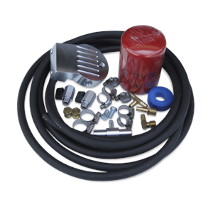 Engine Parts - Coolant System Parts - DieselSite - DieselSite Coolant Filtration System, Ford (2003-10) 6.0L Power Stroke, E-250/350/450 Van Mount