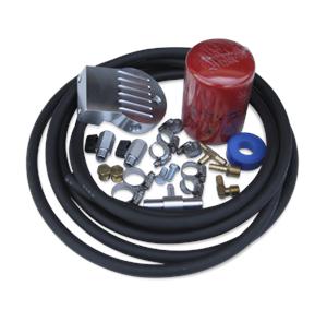Engine Parts - Coolant System Parts - DieselSite - DieselSite Coolant Filtration System, Ford (2003-10) 6.0L Power Stroke, E-250/350/450 Van Mount