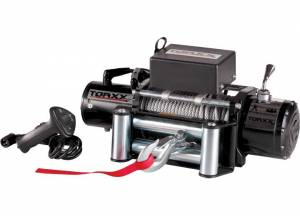 Winches - Electric Winches - Pro Maxx - Torxx Truck Winch Kit 8,000lbs with wire fairlead