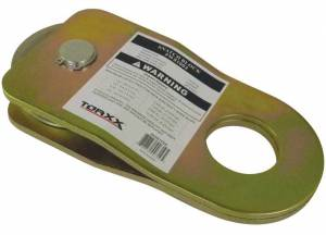 "Pro Maxx - Torxx Snatch Block, 19K lb max, up to 3/8"" diameter wire rope"