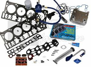 Oil System & Filters - Oil Coolers & Service Kits - Complete Solution Kit, Ford (2003-07) 6.0L Power Stroke, Stage 2