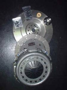 Transmission - Clutches/Clutch Parts - South Bend Clutch - South Bend Clutch HD Solid Flywheel Conversion Kit, Ford (1999-03) 7.3L F-250/350/450/550 6-Speed, 450hp & 900 ft lbs of torque (OFEK)