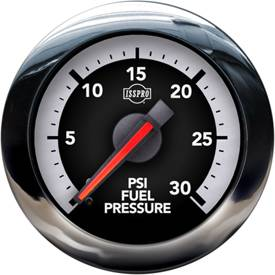 Isspro - Isspro EV2 4th Gen Dodge Factory Match, Fuel Pressure (0-30psi)