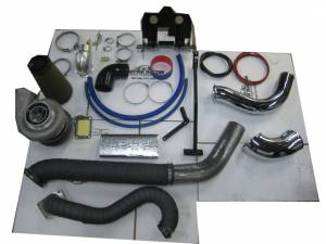 Turbos/Superchargers & Parts - Performance Twin Turbo Kits - Industrial Injection - Industrial Injection Towing Compound Twin Turbo Kit, Chevy/GMC (2006-07) 6.6L Duramax LBZ, (S474)