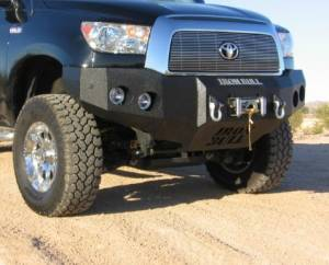 Brush Guards & Bumpers - Front Bumpers - Iron Bull Bumpers - Iron Bull Front Bumper, Toyota (2007-13) Tundra & (07-14) Sequoia