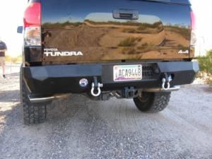 Iron Bull Bumpers - Iron Bull Rear Bumper, Toyota (2007-12) Tundra - Image 3