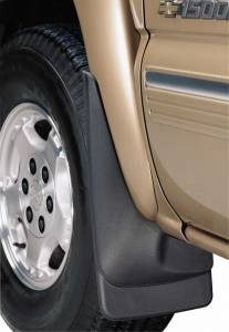 Huskyliners - Husky Liners Custom Molded Mud Flaps, Chevy/GMC (1999-07) 1500-3500HD with factory flares (Pair), Black - Image 2