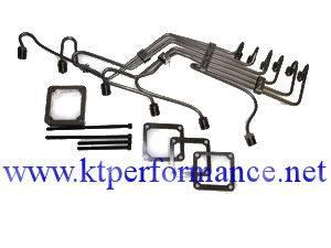 """Scheid Diesel - Scheid Diesel Pre-Bent Injection Line Kit, 24V Cummins with P Pump, 0.078"""" mild steel - Image 2"""