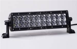 "Off-Road Lighting - Dual Row LED Light Bars - Rigid Industries - Rigid Industries, 10"" E-Series LED Light Bar, Spot/Flood Combo, Amber"