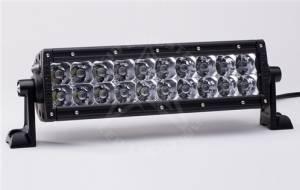 """Off-Road Lighting - Dual Row LED Light Bars - Rigid Industries - Rigid Industries, 10"""" E-Series LED Light Bar, Spot/Flood Combo, White"""