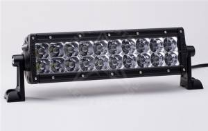 "Off-Road Lighting - Dual Row LED Light Bars - Rigid Industries - Rigid Industries, 10"" E-Series LED Light Bar, Spot, Amber"