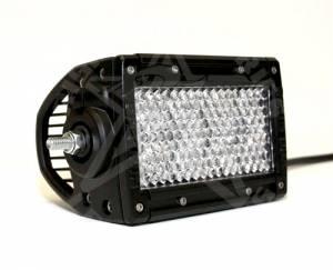 """Off-Road Lighting - Dual Row LED Light Bars - Rigid Industries - Rigid Industries, 4"""" E-Series Diffused LED Light Bar, White"""