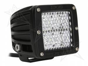 Off-Road Lighting - Cube LED Lights - Rigid Industries - Rigid Industries Pod, D2 LED Light - Diffused (White)