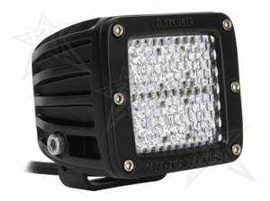 Rigid Industries - Rigid Industries Pod, Dually LED Light - Diffused (White)