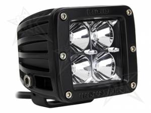Off-Road Lighting - Cube LED Lights - Rigid Industries - Rigid Industries Pod, Dually LED Light - Flood