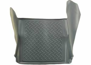 Interior Accessories - Floor Liners/Mats - Huskyliners - Husky Liners Floor Liner, Chevy/GMC (2007.5-12) 1500/2500/3500 Crew/Extended Cab Gray (Center Hump)