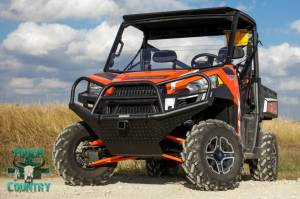 Brush Guards & Bumpers - ATV/UTV Heavy Duty Bumpers - Tough Country - Tough Country UTV Front Bumper, Polaris (2011-17) 2 psgr, (11-18) 4 psgr Ranger 900/1000