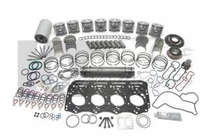 Ford Genuine Parts - Ford Motorcraft Overhaul Kit, Ford (1994-03) 7.3L Power Stroke, 0.02 Over Sized Pistons - Image 2