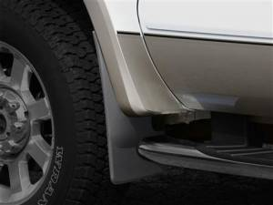 Exterior Accessories - Mud Flaps - Weather Tech - Weather Tech Mud Flaps, Ford (2008-10) Super Duty, Front (with OE Fender Flares) Black